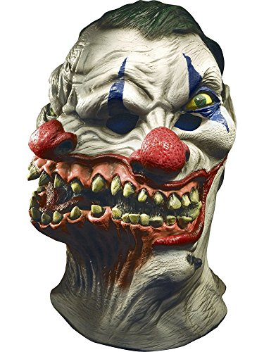 Rubie's Adult Overhead Latex Mask, Siamese Clown -