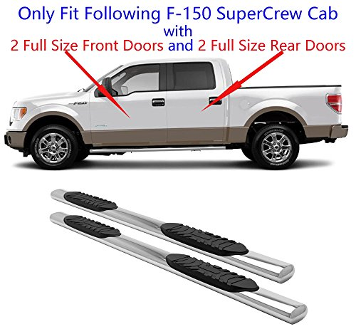 07 f150 running boards crew cab - 6