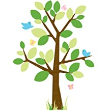 RoomMates RMK1319GM Dotted Tree Peel and Stick Giant Wall Decal