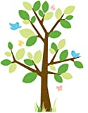 RoomMates RMK1319GM Dotted Tree Peel & Stick Giant Wall Decal