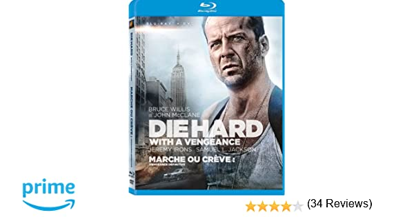 Die Hard 3 Die Hard With A Vengeance Blu Ray Dvd Amazonca
