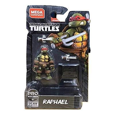 Mega Construx Pro Builders Teenage Mutant Ninja Turtles Raphael Buildable Figure: Toys & Games