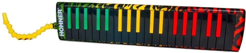 Hohner Inc, USA AB37-RASTA 37 Key Melodica