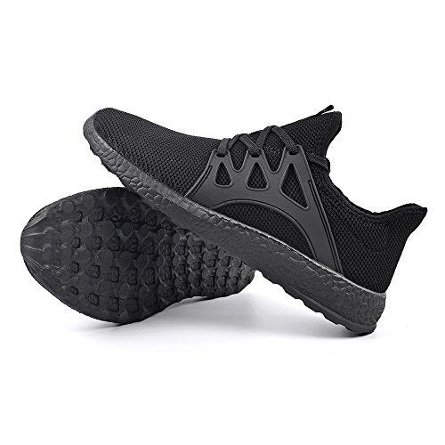 Sportivi Leggeri Corsa da Sneakers Scarpe Uomo Scarpe Ginnastica Nero da QANSI Confortevoli nAwFYq0A