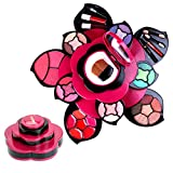 POLAMD Makeup Kits Flower Make Up Pallete Gift Set for Teen Girls and Women - Petals Expand to 3 Tiers -Variety Shade Array