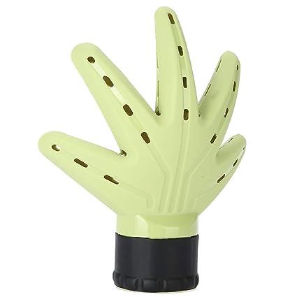 Secador de pelo Difusor de aire, Secador de pelo en forma de palma Difusor de