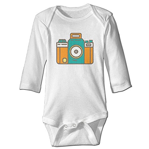 Price comparison product image Artwork Camera Baby Jumpsuit Infant Boy Girl Clothes Cotton Romper Bodysuit Onesies
