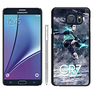 Fashionable Samsung Galaxy Note 5 Edge Case ,Unique And Popular Designed Case With Cristiano Ronaldo Black Samsung Galaxy Note 5 Edge Great Quality Screen Case