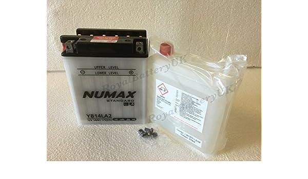 Numax yb14la2 (YB14L-A2) - Batería de moto jet ski ATV Quad ...