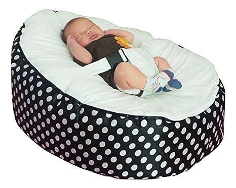Amazon.com: Mama Baba puf de bebé sin relleno: Baby