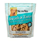 Nutri-Vet Breath and Tartar Spearmint and Parsley Flavored Biscuits, 19.5 Ounce Bag, My Pet Supplies