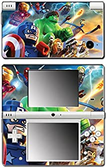 Avengers Captain America Thor Hulk Iron Man Toy Video Game Vinyl Decal Skin Sticker Cover for Nintendo DSi System