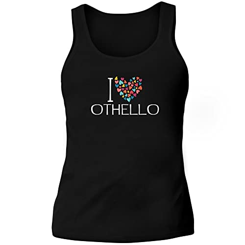 Idakoos I love Othello colorful hearts - Nomi Maschili - Canotta Donna
