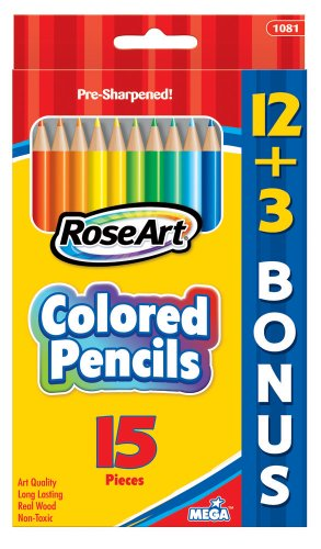 RoseArt 15 Count Assorted Packaging 1081 144 product image