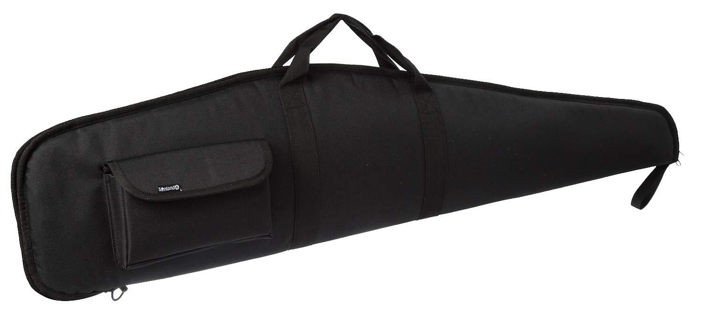 SUNLAND 44/48/52 Inch Rifle Case with Adjustable Shoulder Shotgun Case for Scoped Rifles (Black, 48)