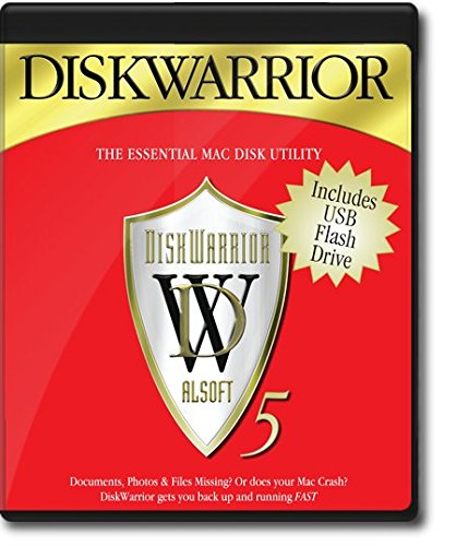 Disk Warrior 5 - Mac (select) Version 5 - Tigers 5