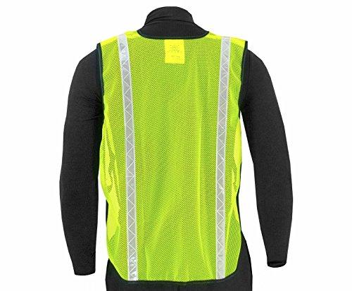 JORESTECH Emergency High visibility safety vest with reflective stripes (50 Vest, Yellow) by JORESTECH  (Image #2)