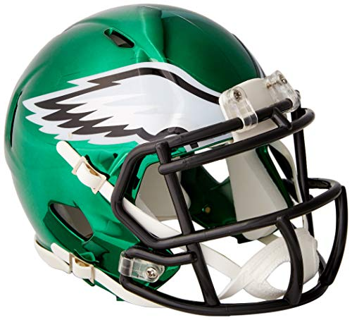 Riddell Chrome Alternate NFL Speed Authentic Mini Size Helmet Philadelphia Eagles
