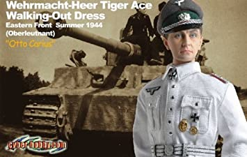 amazon cyber hobby otto carius heer tiger ace german wwii