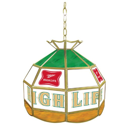 Miller Genuine Draft Tiffany Gameroom Lamp, 16
