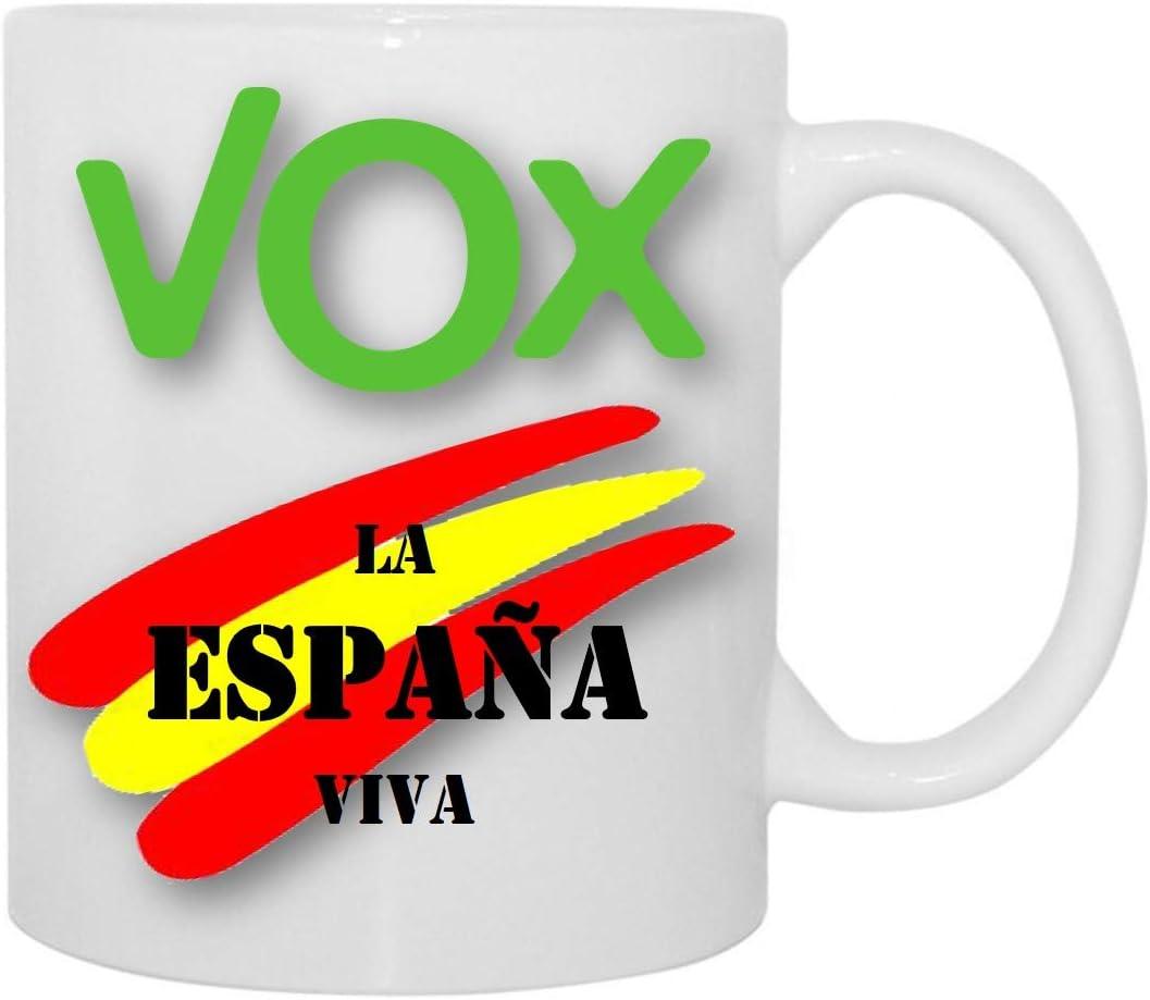 Desconocido Taza VOX La ESPAÑA Viva: Amazon.es: Hogar