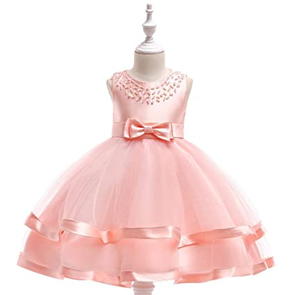 5f4e13aa1550c Baby Girls Frock Dress Girls Sleeveless Formal Dress Princess ...