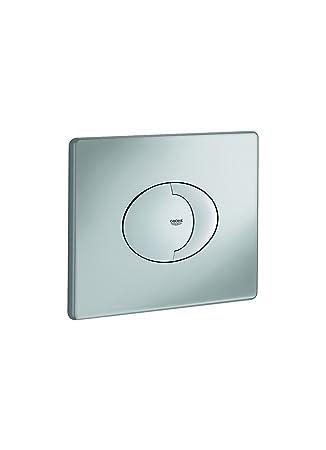 38963000 Grohe Wave | WC - Bet/ätigungsplatte  | f/ür 2-Mengen- und Start /& Stopp-Bet/ätigung f/ür pneumatisches Ablaufventil chrom