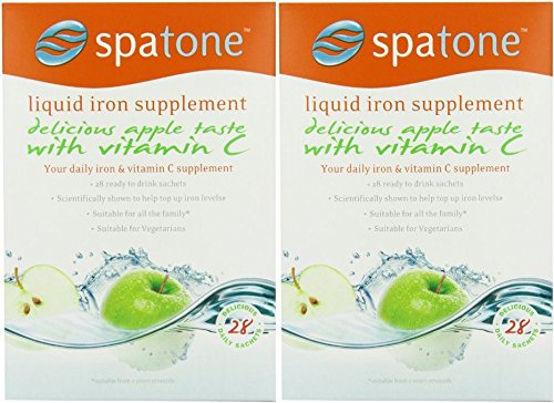 (2 PACK) - Spatone Spatone Apple - 28 Day Pack (28 Sachets) | (25 x 28)(ml...