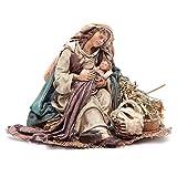 Holy Mary holding Baby Jesus 18cm Angela Tripi