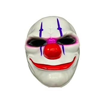 máscara de payaso terror sangre roja - payaso asesino