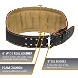 Harbinger Padded Leather Contoured Weightlifting