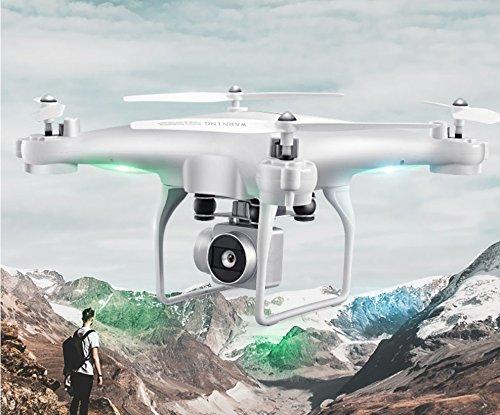 STOWNN Remote Control Aircraft, Unbemannten Ist Professionelle High Definition Ferngesteuerte Flugzeuge Spielzeug 4-Achs Flugzeuge Flug - Jungen Und Mädchen Spielzeug Schwarz Dual-A 40-Minute