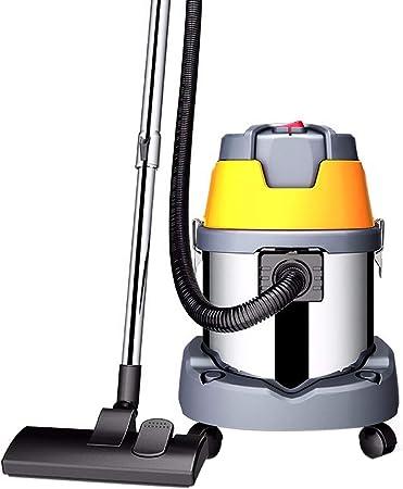 TY-Vacuum Cleaner MMM@ Aspiradora Seca y Húmeda Soplando Tres Aspiradores Domésticos 1600 W Alta Potencia Vehículo Comercial Decoración Hotel Pequeño Aspirador de Cubo de Mano 25L: Amazon.es: Hogar