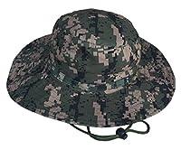 Woo2u Waterproof Rounded Camouflage Hat Ben Nepalese Cap 58cm Multicolored C