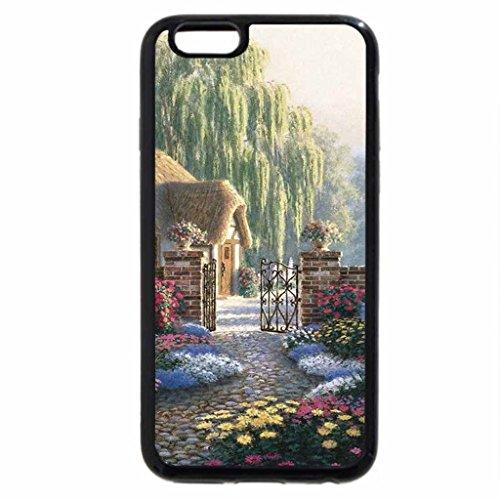 iPhone 6S / iPhone 6 Case (Black) still farm house