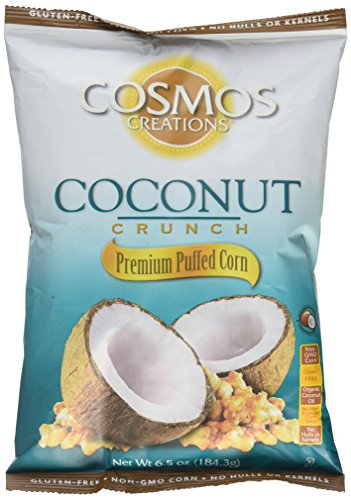 Cosmos Creations Puffed Corn Coconut Crunch 6.5 oz bag ()