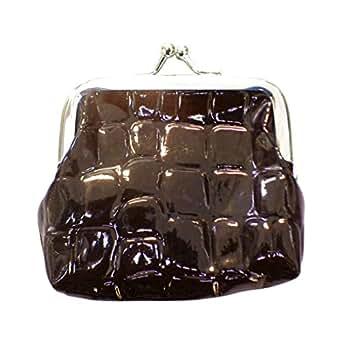 Amazon.com: cartera con aspecto de piel de cocodrilo y ...