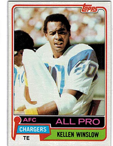 1981 Topps San Diego Chargers Team Set