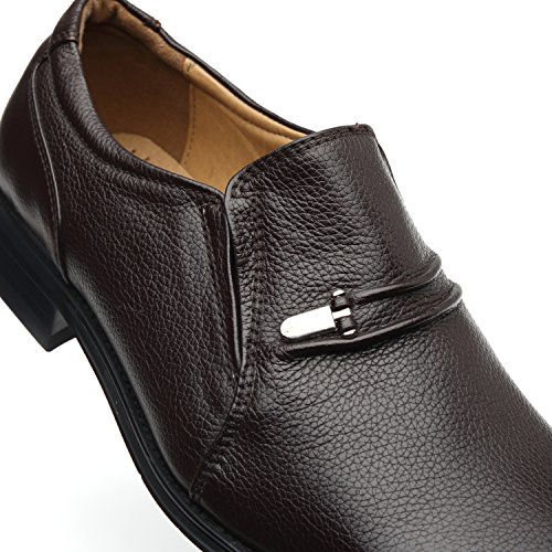 La Milano Men's Slip On Loafers Business Casual Comfortable Classic Leather Dress Shoes for Men by La Milano (Image #5)