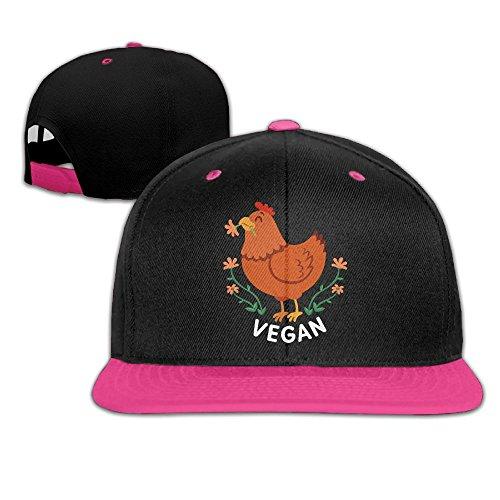 DZZKMBGY Men Women Chicken Vegan Fashion Baseball Caps Adjustable Hip Hop Dad Snapback Hat For Four - Blog Painter