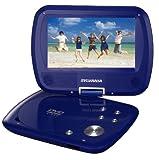 Sylvania SDVD7037 7-Inch Portable DVD Player with Swivel Screen – Blue