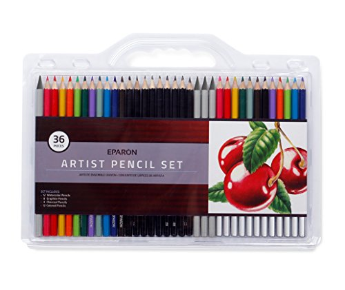 eparon-36-piece-artist-pencil-set
