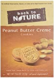 Back To Nature Cookies, Peanut Butter Creme, 9.6 Ounce