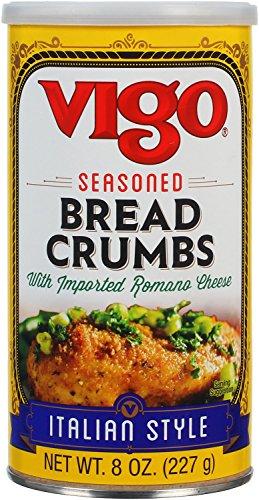 (Vigo Italian Style Seasoned Bread Crumbs, 8 Ounce (Pack of 12))