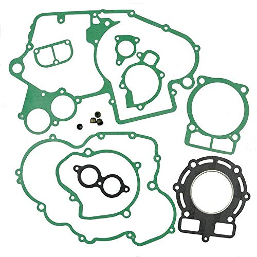 Star-Trade-Inc - For 400SX/MXC/EXC, 450EXC Engine Gasket Kit Cylinder Top End Crankcase Stator Clutch Cover Exhaust Seals Set ()