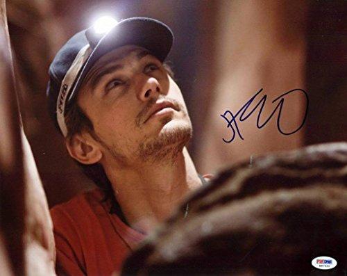 James Franco 127 Hours Signed Authentic 11X14 Photograph Autographed PSA/DNA Authentication