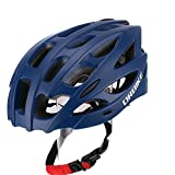 DRBIKE Cycling Helmet – Lightweight Bike Helmet Integrally Molded EPS Bicycle Helmet with Removable Visor for Teen/Youth
