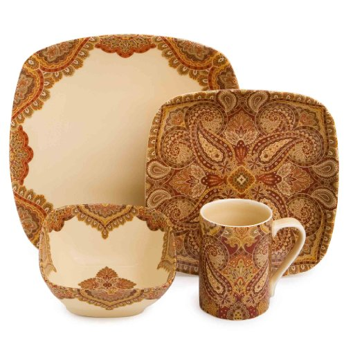222 Fifth Spice Road 16-Piece Dinnerware Set by 222 Fifth (Image #1)