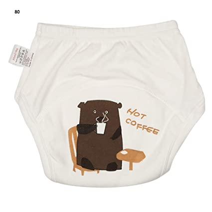 Pantalones de pañales reutilizables para bebés, pantalones de ...