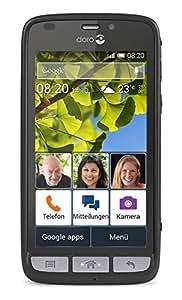 "Doro Liberto 820 - Smartphone libre Android (pantalla 4.5"", cámara 8 Mp, 8 GB), negro"